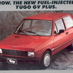 Yugo Car Brochure
